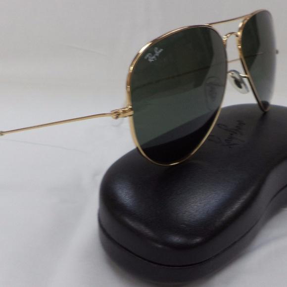 373e80c8bc61b Ray-Ban Accessories   Rayban Aviator 3026 L2846 Unisex Sunglasses ...